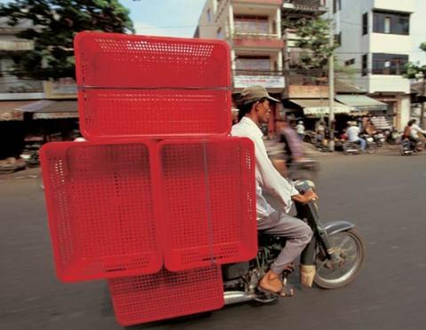 Co jezdí v Asii po silnicích? (2)