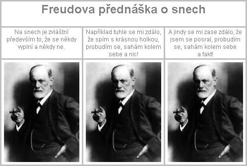 Freudova přednáška o snech.