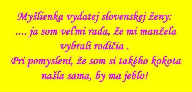 Myšlenka slovenské ženy